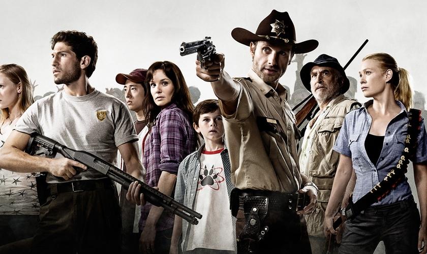 Walking Dead é uma das séries de maior sucesso da TV internacional