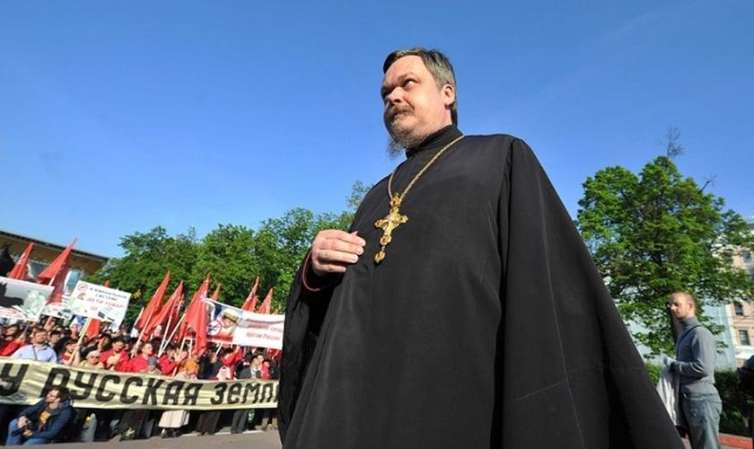 Vsevolod Chaplin é patriarca da Igreja Ortodoxa Russa (Foto: World Bulletin)