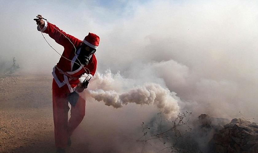 A cidade palestina de Belém tem sido palco de confrontos. (Foto: Getty Images)