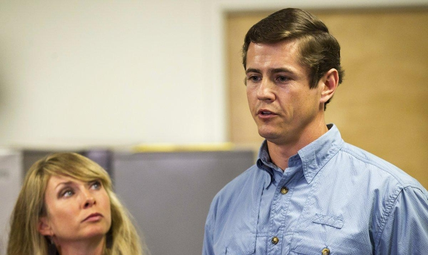 Patrick Hale apreendeu dois fugitivos de uma prisão na Geórgia, nos EUA. (Foto: Erik Schelzig/AP)