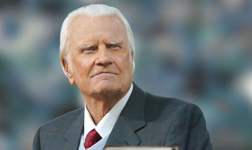 Billy Graham já pregou para mais pessoas do que qualquer pregador da história. (Foto: Reprodução)