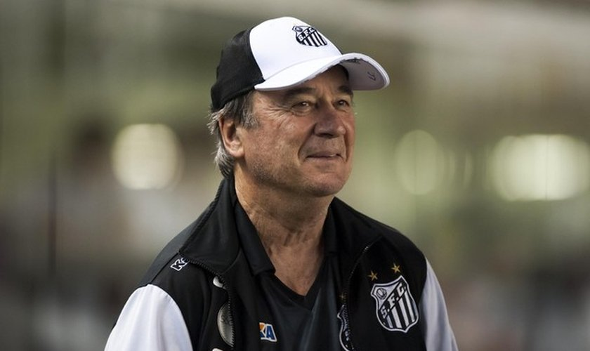 Levir Culpi, de 64 anos, é o novo técnico do Santos. (Foto: Ivan Storti/ Santos FC)