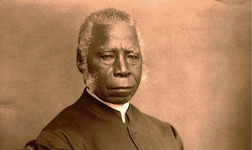 Samuel Crowther se tornou o primeiro bispo africano da Igreja Anglicana. (Foto: Black History Month)