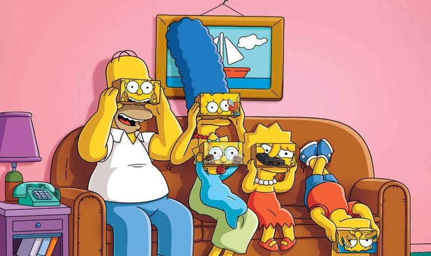 Entre as comédias familiares que apresentam diálogo sexual está Os Simpsons. (Foto: Divulgação/Fox)