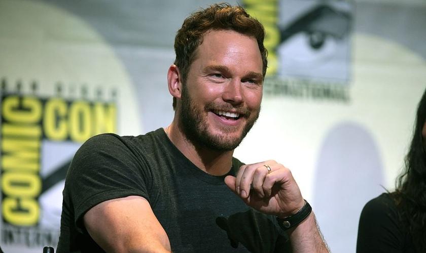 Ator Chris Pratt em participação na Comic Con em San Diego, na Califórnia. (Foto: Gage Skidmore)