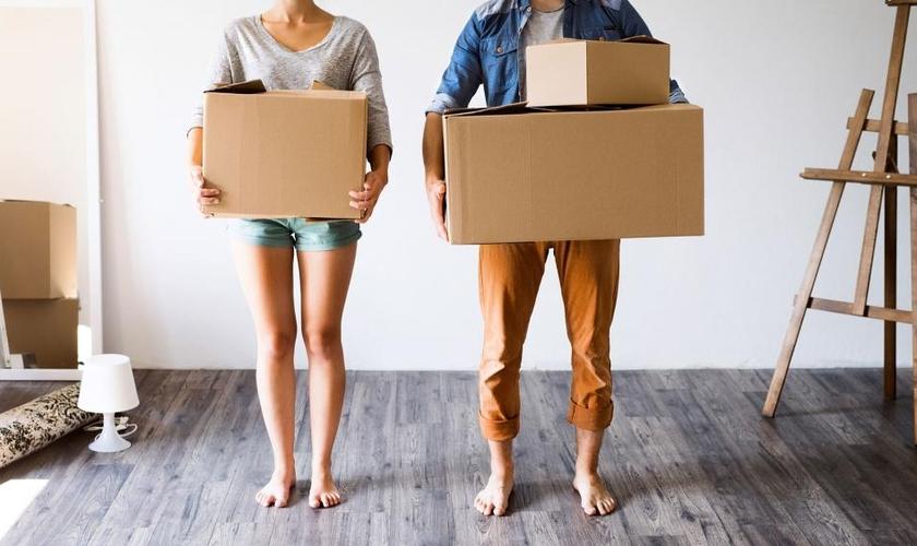 A pesquisa indica que os problemas de casais que decidem morar junto antes de casar podem aumentar com o avançar do tempo. (Foto: CBN News)