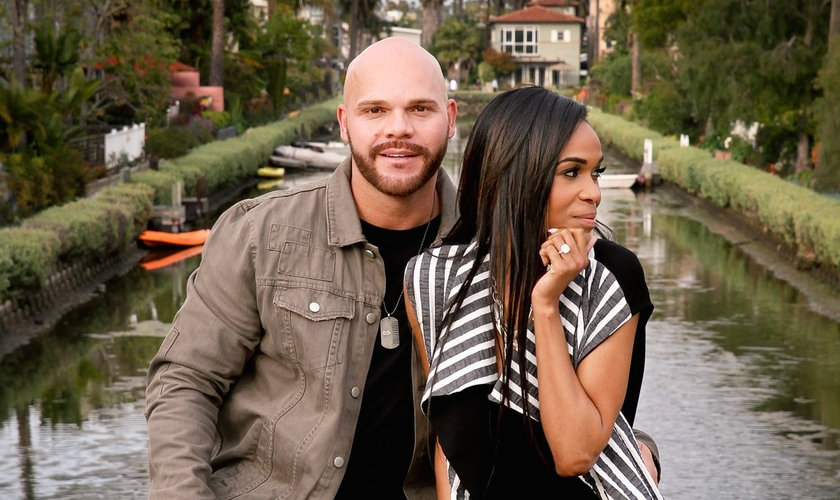 Michelle Williams e seu noivo, o pastor Chad Johnson, firmaram um compromisso de santidade até o dia do casamento. (Foto: Reprodução)