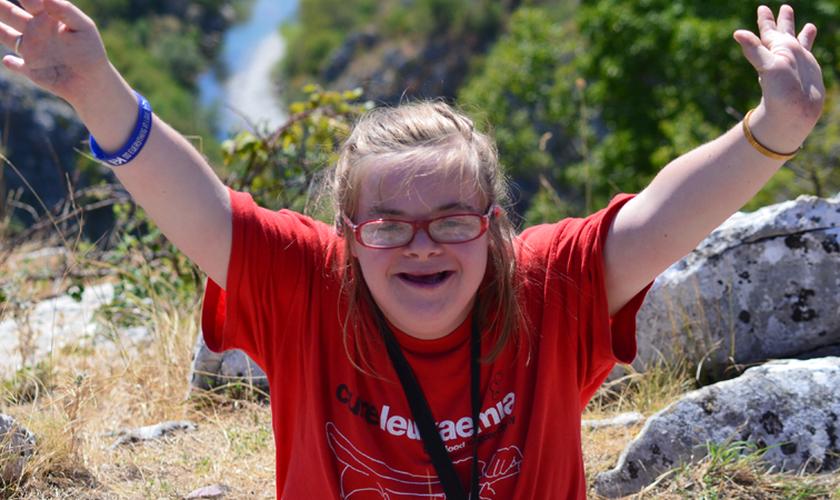 A jovem Heidi Crowter passou a lutar contra o aborto em casos de síndrome de Down. (Foto: Heidi Crowter)