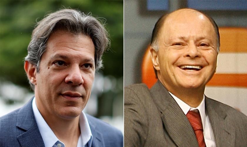 Disputa na Justiça dá vitória a Edir Macedo contra Fernando Haddad. (Foto: Reprodução)