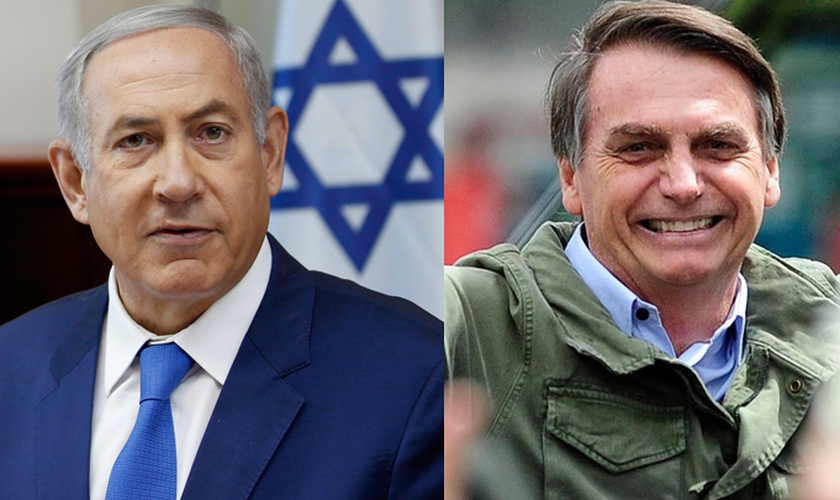 Benjamin Netanyahu faz visita inédita de um premiê israelense ao Brasil. (Foto: Reprodução/Realidade Israelense)