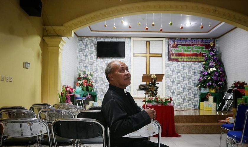 """Pastor Markus Taekz conta que igreja estava reunida na hora do tsunami: """"nenhuma vítima""""."""
