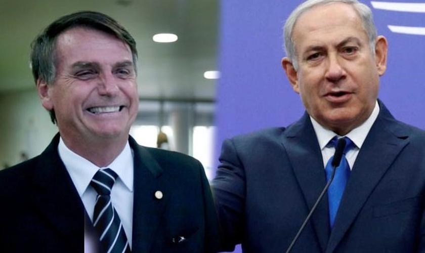 """Benjamin Netanyahu: """"Espero abrir uma nova era nas relações entre Israel e o Brasil"""". (Foto: Reprodução)"""