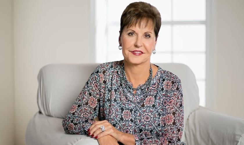 A escritora Joyce Meyer usa seu testemunho para inspirar mulheres que foram vítimas de abuso. (Foto: Joyce Meyer Ministries)