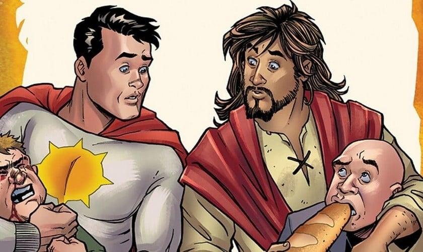 Jesus será apresentado como super-herói fracassado nos quadrinhos da DC Comics. (Foto: Divulgação)