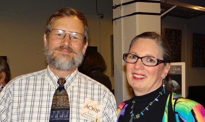 Linda e seu marido John Barkman (Foto: Arquivo pessoal/Flickr)