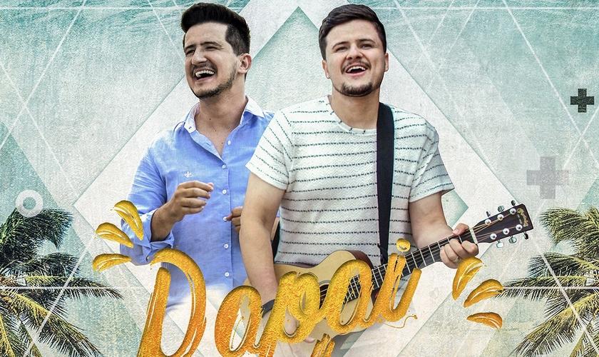"""André e Felipe lançaram o single """"Papai te Ama"""". (Imagem: Divulgação)"""