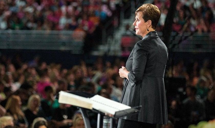 Joyce Meyer explicou que aprendeu a ter uma nova visão a respeito da fé e da prosperidade. (Foto: Reprodução)