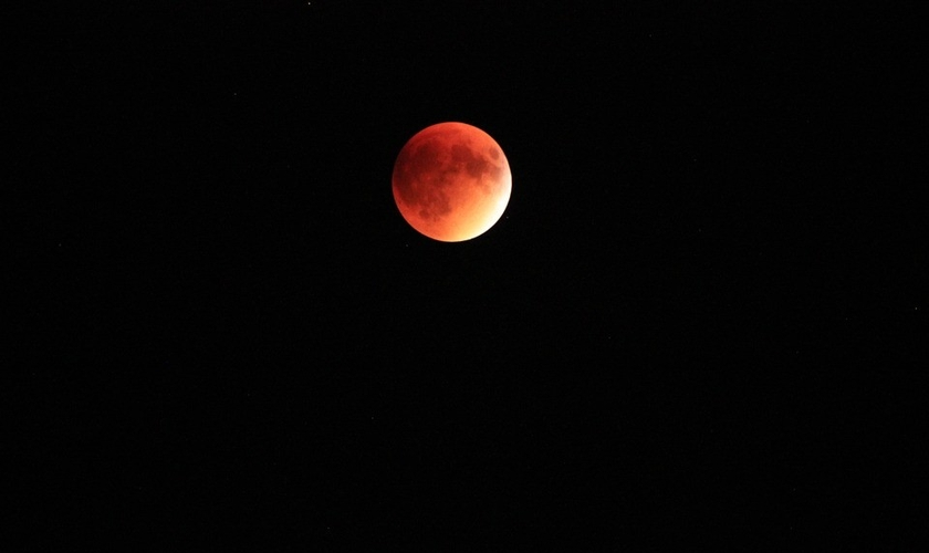Com eclipse total da lua, 'superlua de sangue' ficará visível neste domingo. (Foto: Pixabay)