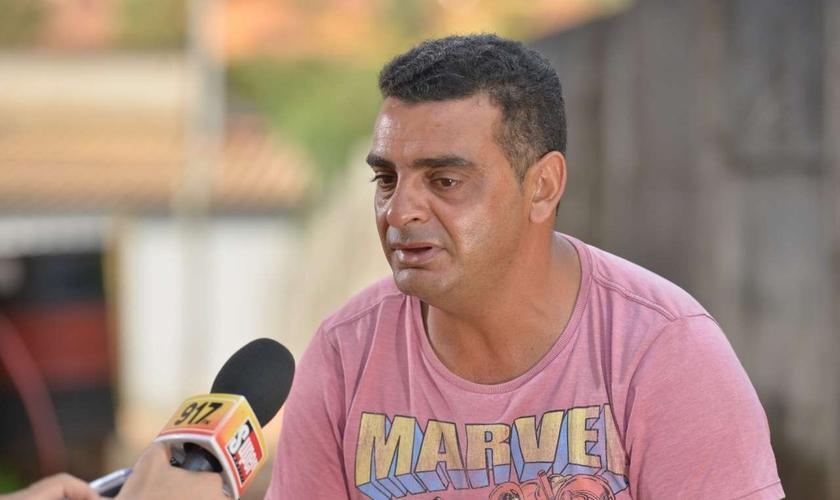 Marco Antônio Ribeiro, operador mantenedor mecânico da Vale, sobreviveu à tragédia de Brumadinho. (Foto: O Tempo)
