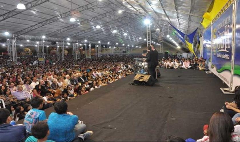 Encontro para Consciência Cristã, que acontece em Campina Grande. (Foto: Divulgação)