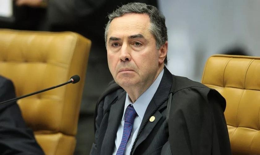 Ministro Luís Roberto Barroso durante sessão no Supremo Tribunal Federal. (Foto: Carlos Moura/SCO/STF)