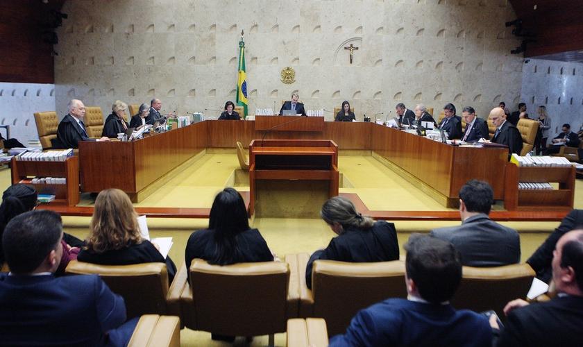Plenário do STF reunido em 28 de março de 2019. (Foto: Divulgação/STF)