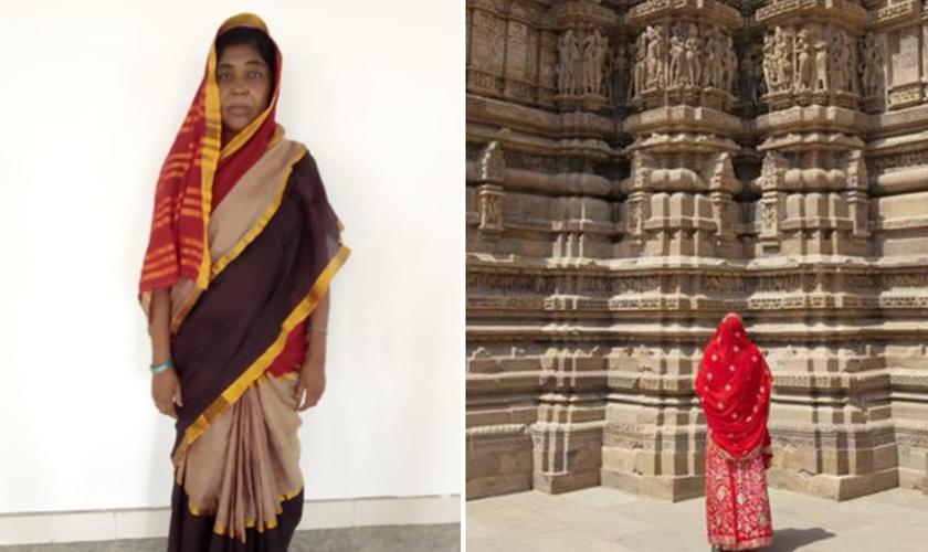 Ambika abandonou a prostituição no templo da Índia quando conheceu o Evangelho. (Foto: Reprodução/TTI)