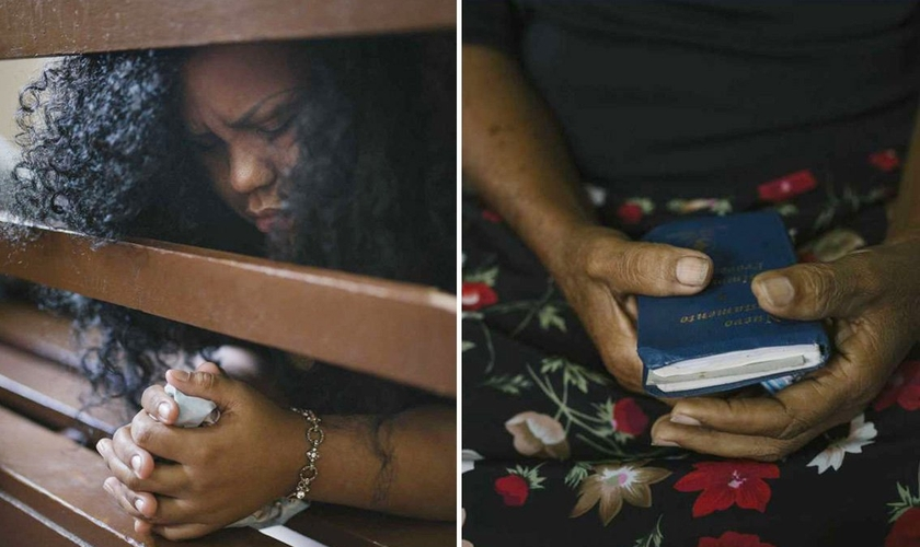 Fé tem sido o caminho dos venezuelanos para suportarem a crise profunda do país. (Foto: Andrea Hernandez/The Washington Post)