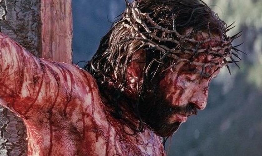 Cena do filme A Paixão de Cristo. (Foto: Reprodução/YouTube)