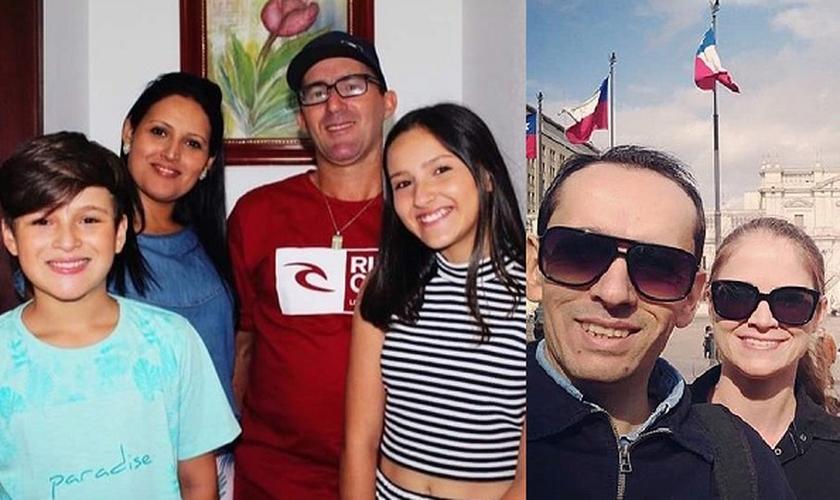 As vítimas são uma família de quatro pessoas, além do irmão e cunhada da mãe da primeira família. (Foto: Reprodução/Facebook)