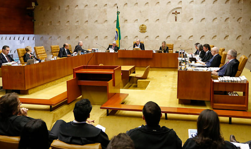 Plenário do Supremo Tribunal Federal (STF) deve julgar processo para descriminalizar porte de drogas no próximo dia 5 de junho. (Foto: Pedro Ladeira/Folhapress)