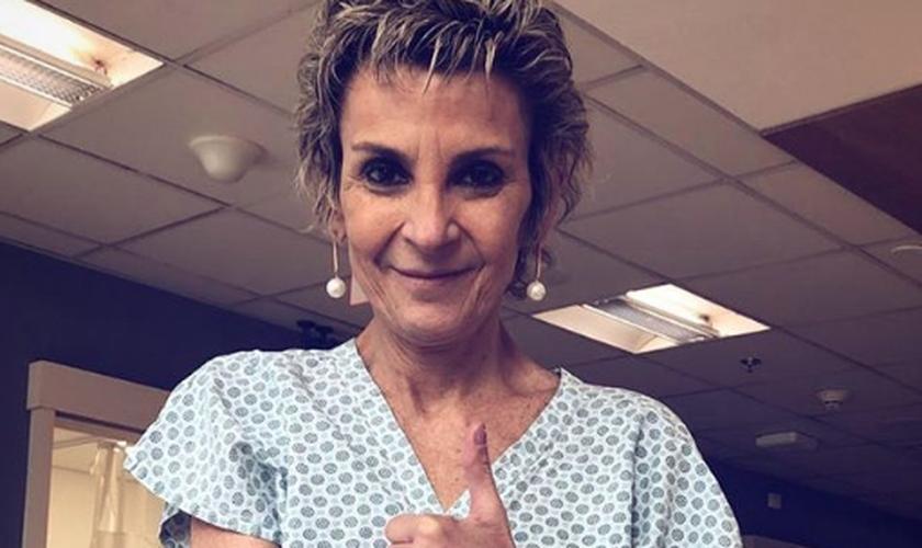 Cantora Ludmila Ferber afirmou que as lesões provocadas pelo câncer foram estagnadas. (Foto: Reprodução/Instagram)