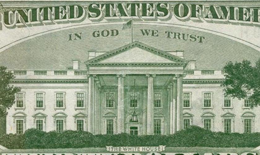 Cédula de dólar americano. (Foto: Reprodução/Christian News)