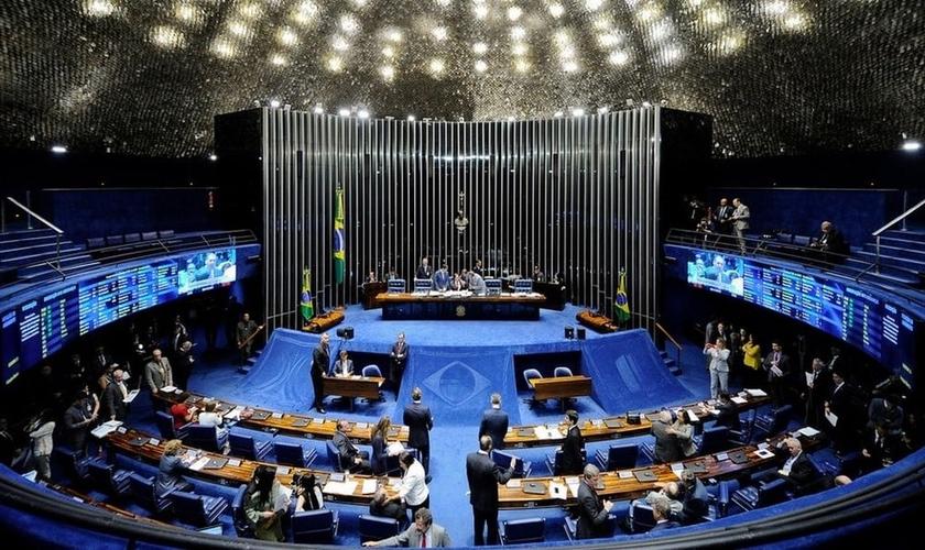 Plenário do Senado Federal. (Foto: Marcos Oliveira /Agência Senado)