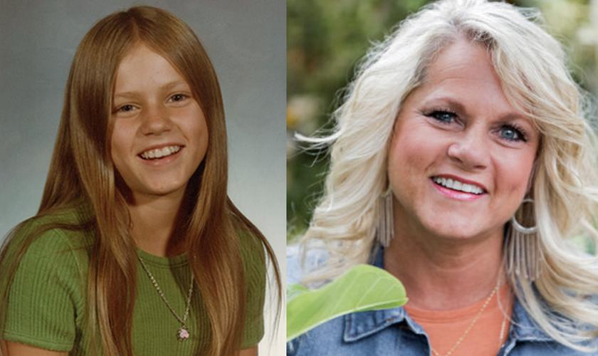 Steffani Besch sofreu acidente aos 13 anos. Hoje, aos 53, ela ainda compartilha seu testemunho. (Foto: Reprodução/God Reports)