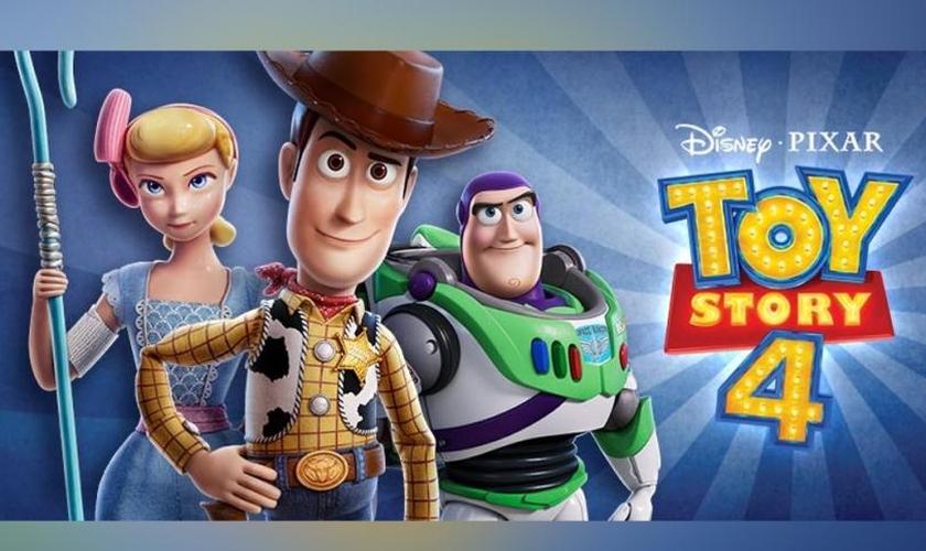 Cartaz de divulgação do filme Toy Story 4. (Foto: Reprodução/Pixar/Disney)