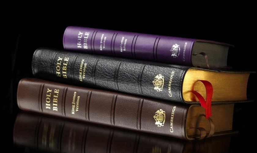Bíblia continua sendo best seller nos EUA. (Foto: Reprodução/Cambridge)