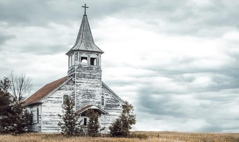 Igreja abandonada. (Foto: Reprodução/Christianity)
