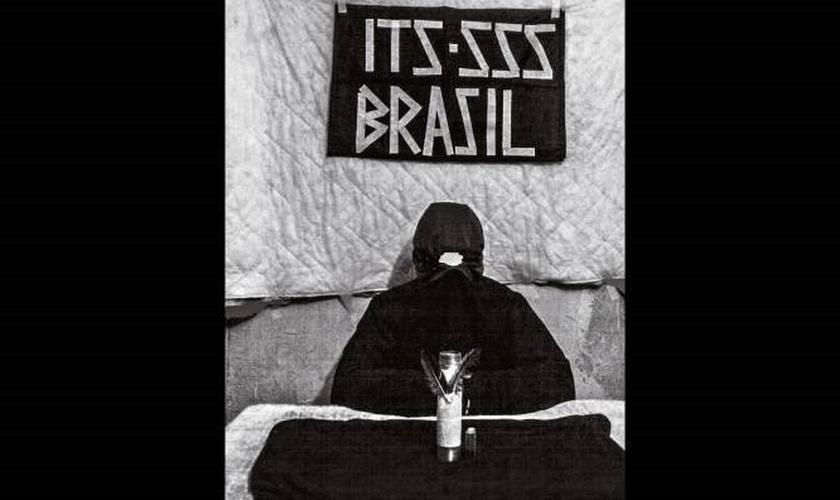 Imagem enviada a Veja por um dos membros da SSS: os terroristas já praticaram três atentados a bomba em Brasília (Foto: Reprodução/Veja)