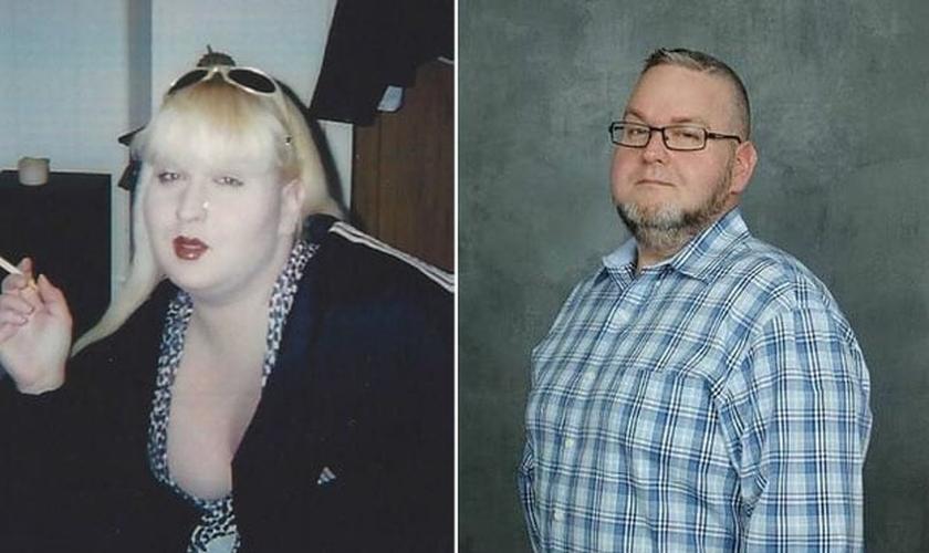 David Arthur envolveu-se com a prostituição como transgênero, mas foi transformado após experiência com Deus no hospital. (Foto: Reprodução)