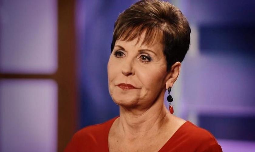 Pregadora evangélica Joyce Meyer. (Foto: Reprodução/CBN News)