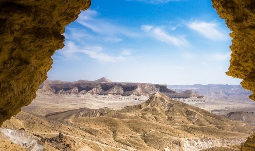 Deserto do Negev. (Foto: Ooriya Ron/iStock)