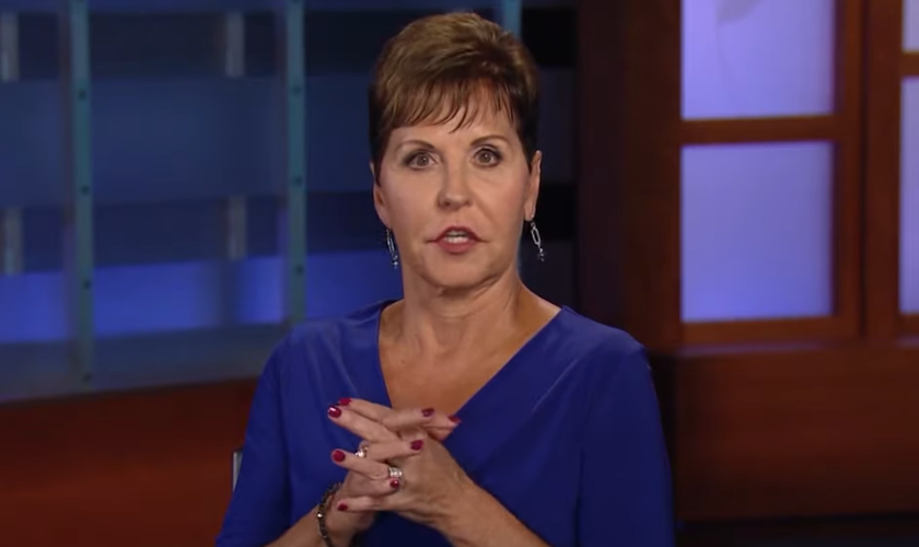 Pastora Joyce Meyer. (Foto: Reprodução/YouTube)