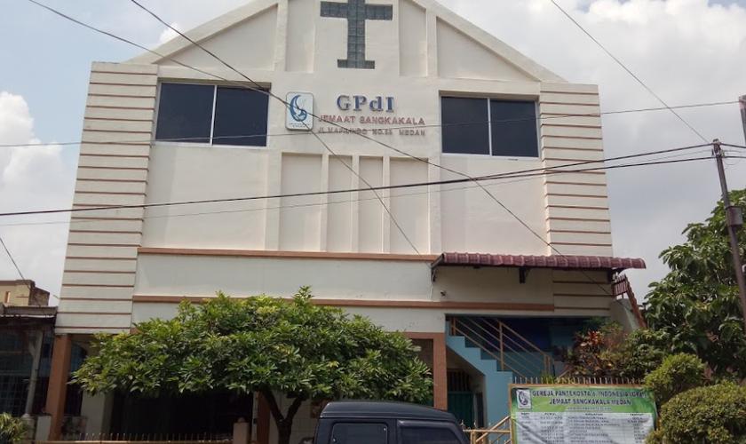 Igreja Pentecostal Indonésia, na ilha de Sumatra. (Foto: Reprodução/Facebook)