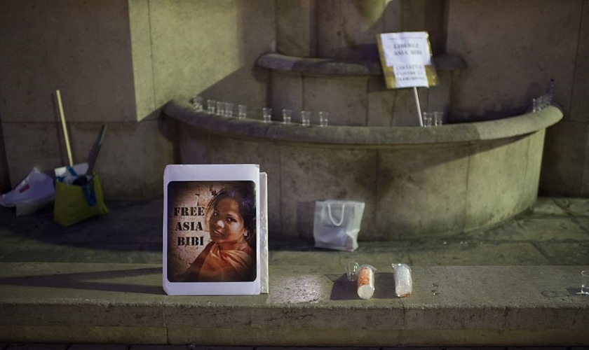 Ásia Bibi atualmente vive no Canadá. (Foto: Martin Bureau/AFP/Getty)