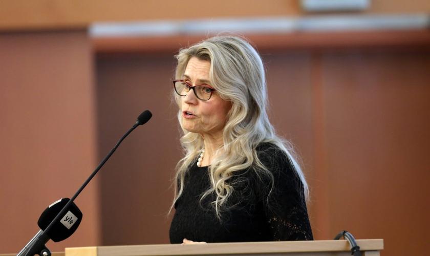 Päivi Räsänen é membra do parlamento da Finlândia e ex-presidente dos Democratas Cristãos. (Foto: AOP)