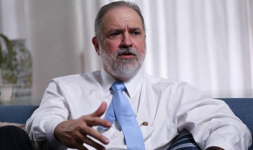 O subprocurador-geral da República Augusto Aras foi indicado por Bolsonaro para chefiar a PGR. (Foto: Pedro Ladeira/Folhapress)