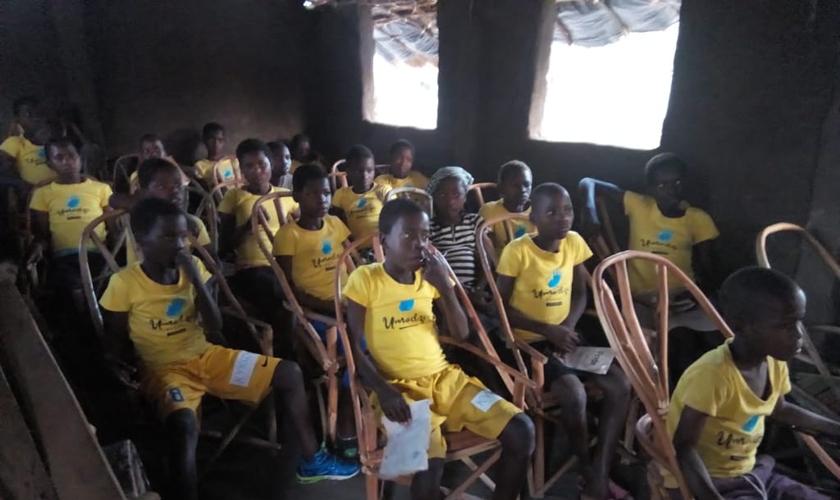 O projeto Umodzi atende crianças que vivem na aldeia de Hatone, na província de Chikwawa, no Malawi. (Foto: MME)
