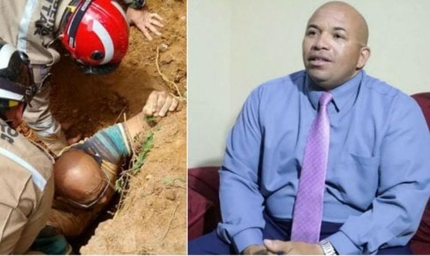 O pedreiro, que tem 46 anos, acredita que nasceu de novo. (Foto: Reprodução/TV Jornal)