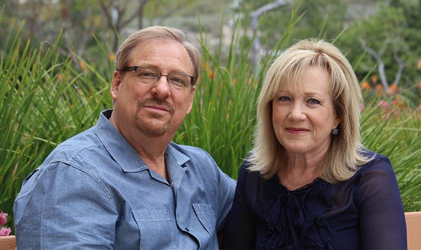 Kay e Rick Warren. (Foto: Reprodução/Saddleback)